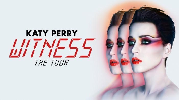 """Katy Perry trará a """"Witness: The Tour"""" ao Brasil em março"""